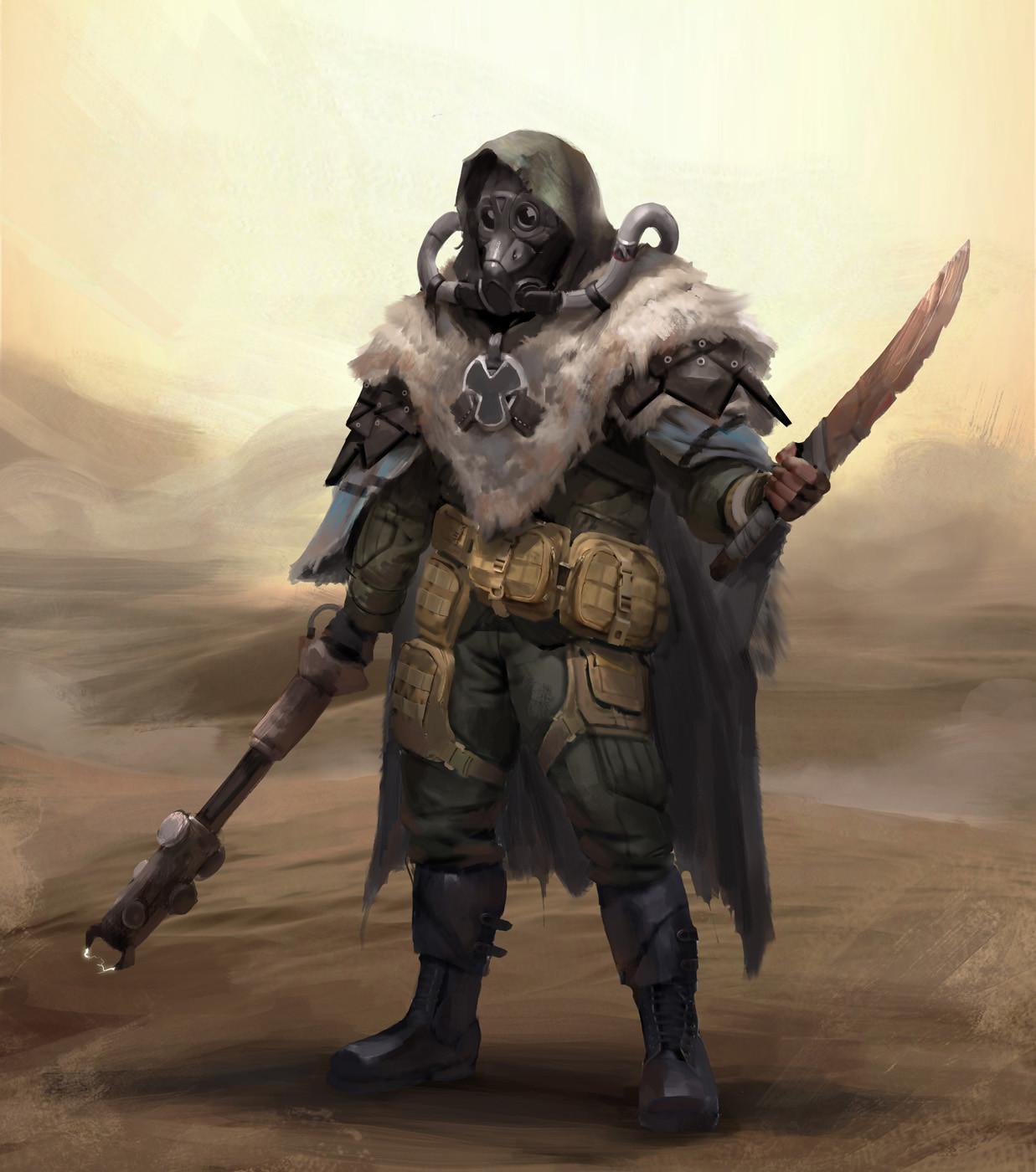 Post-apocalyptic scavanger