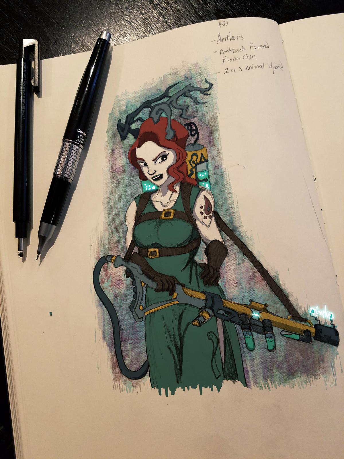 Ashorn Sketch