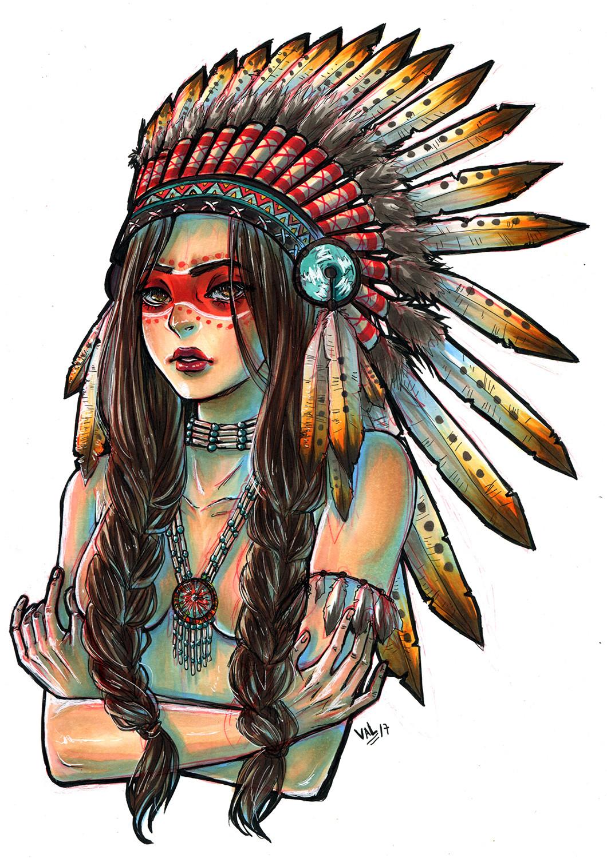 Аниме индейцы картинки
