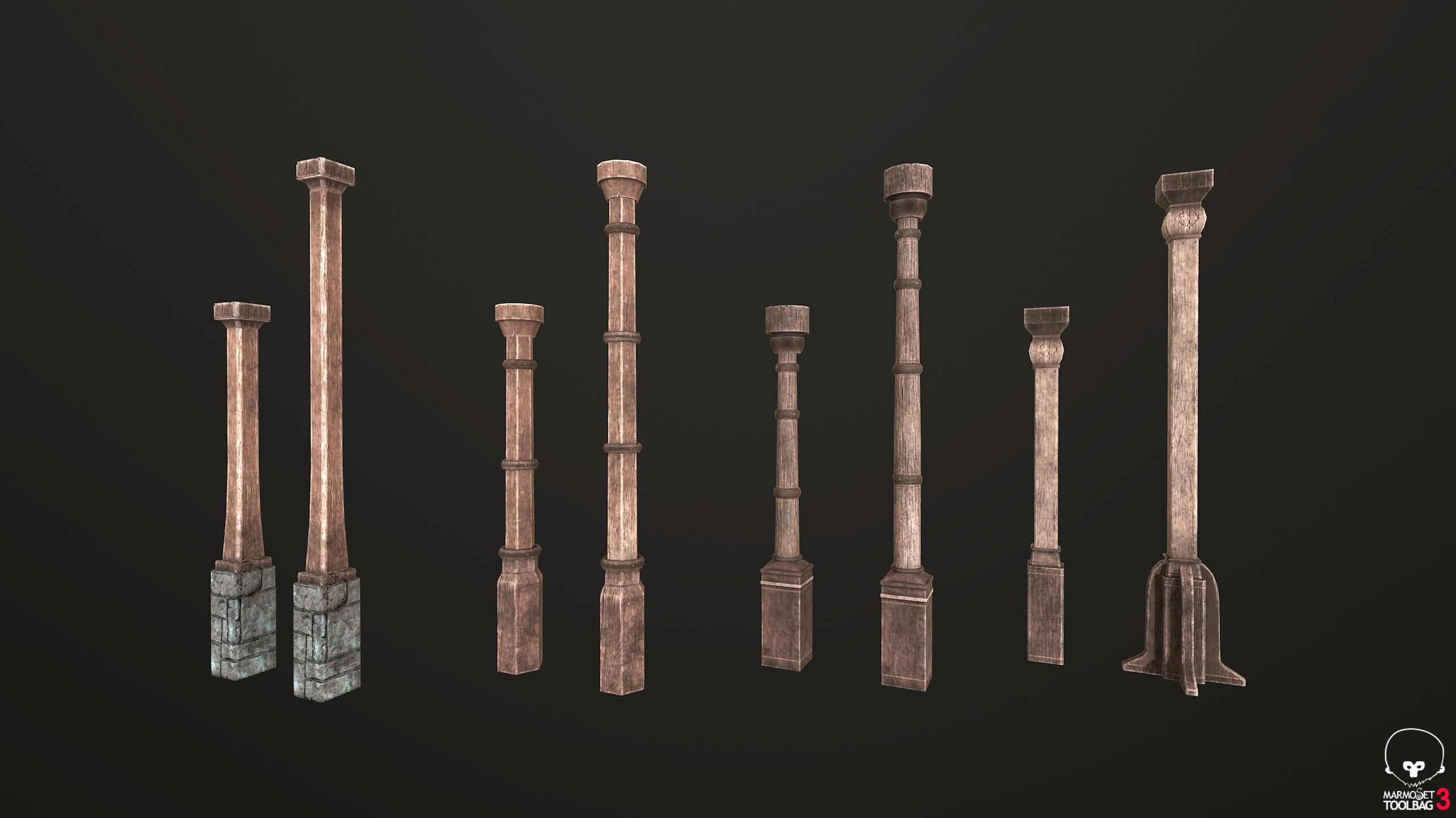 Modular Building Pillars