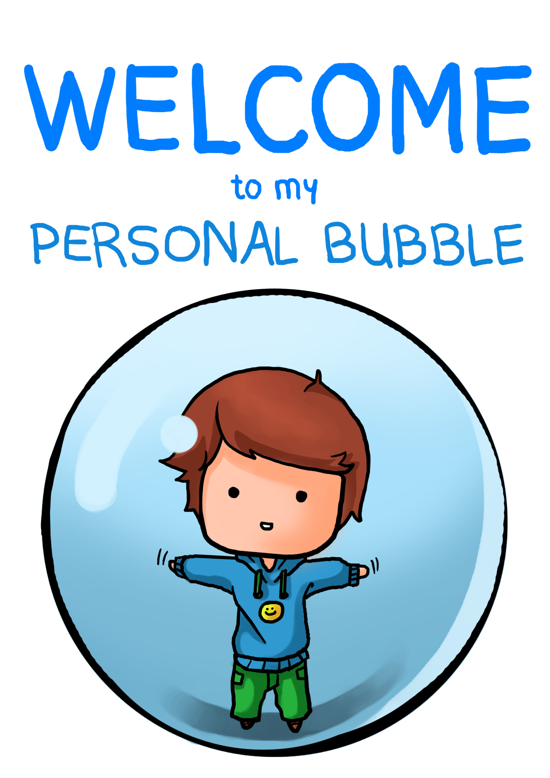 Shellz art personal bubble boy