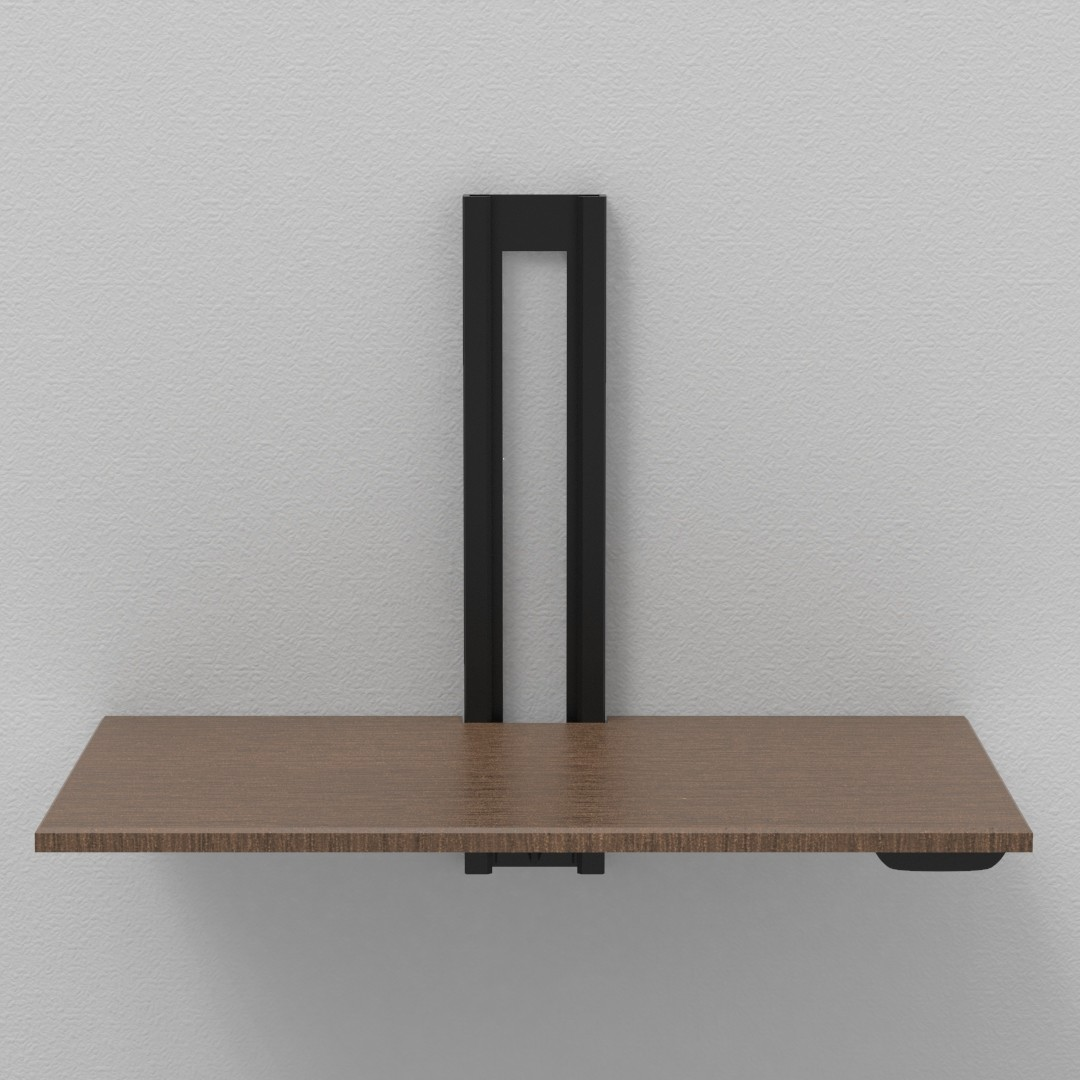 Bogdan Marian Brici Wall Mounted Standing Desk Concept