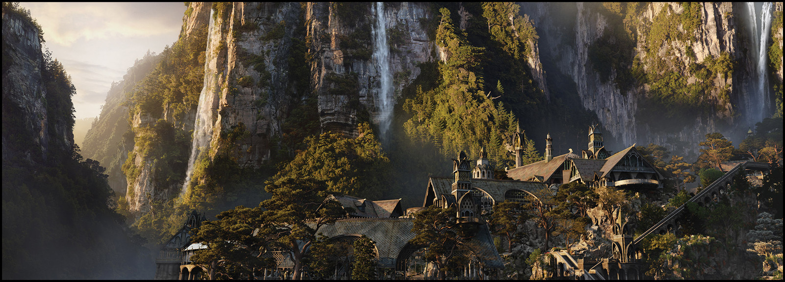 The Hobbit Trilogy / Rivendell Assorted views