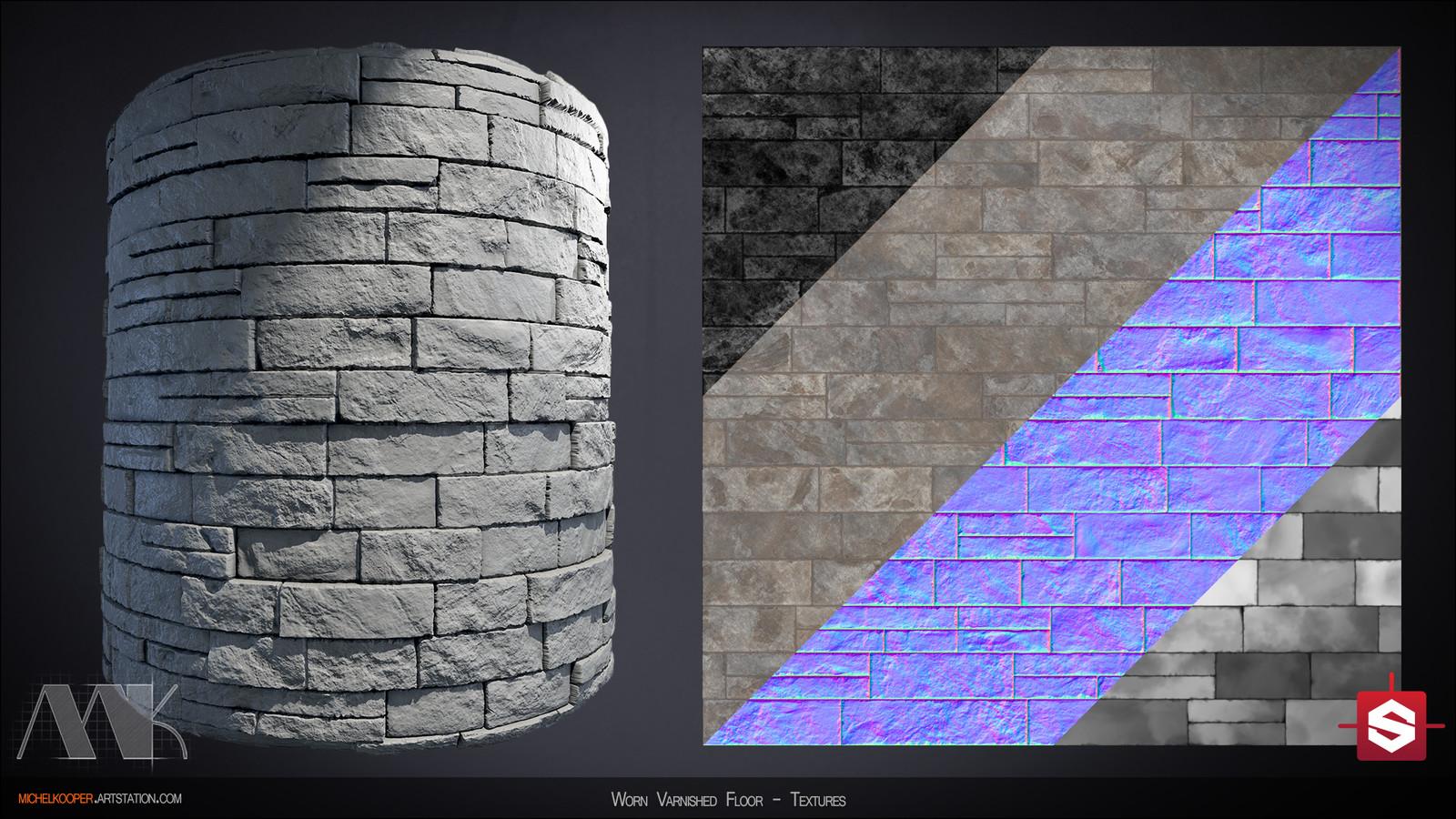 Decorative Slate Wall - Textures