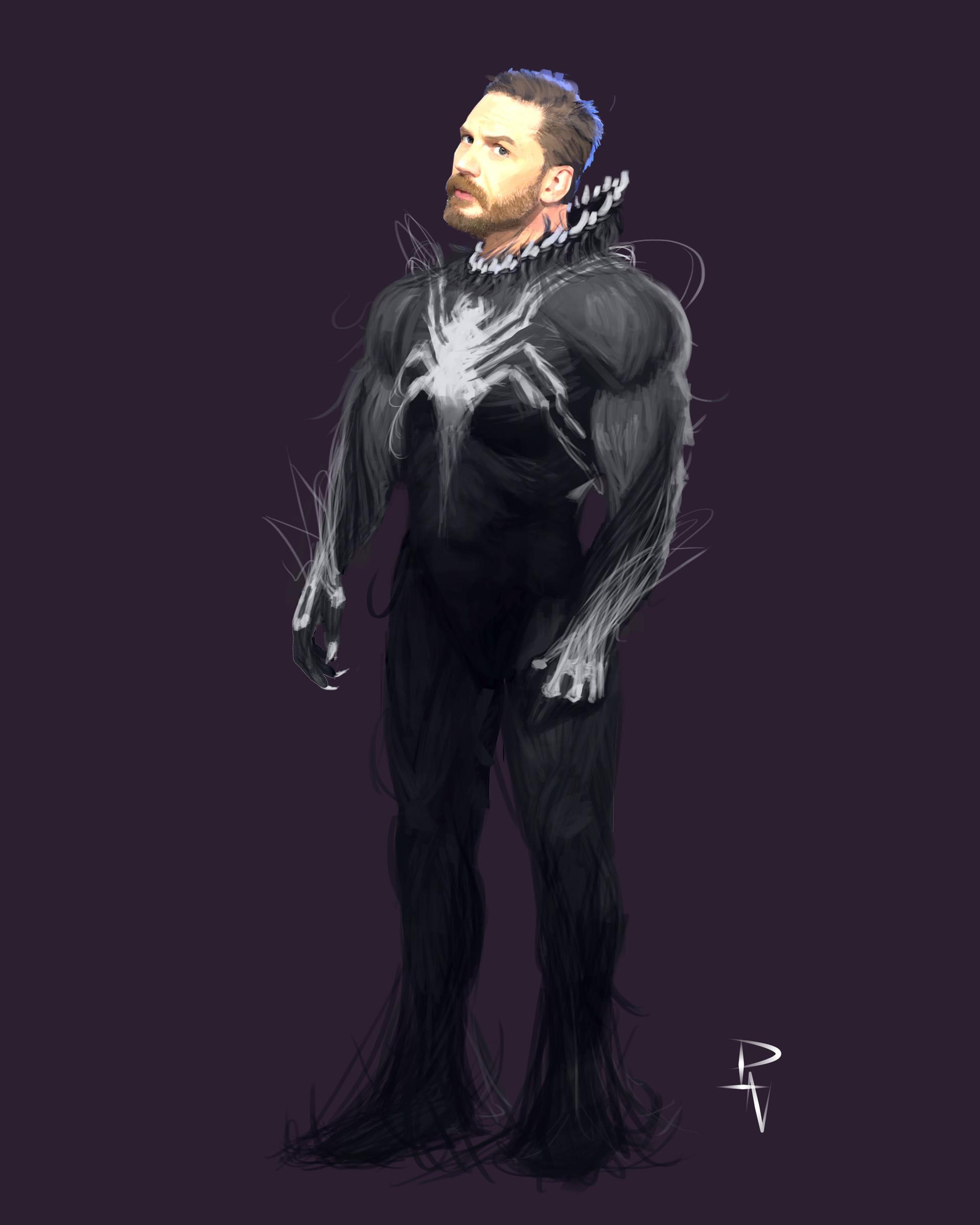 Artstation Venom Concept Art Paulo Vieira