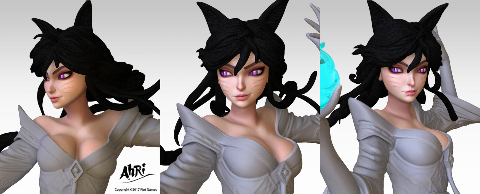 AHRI: A New Dawn Statue (Face)