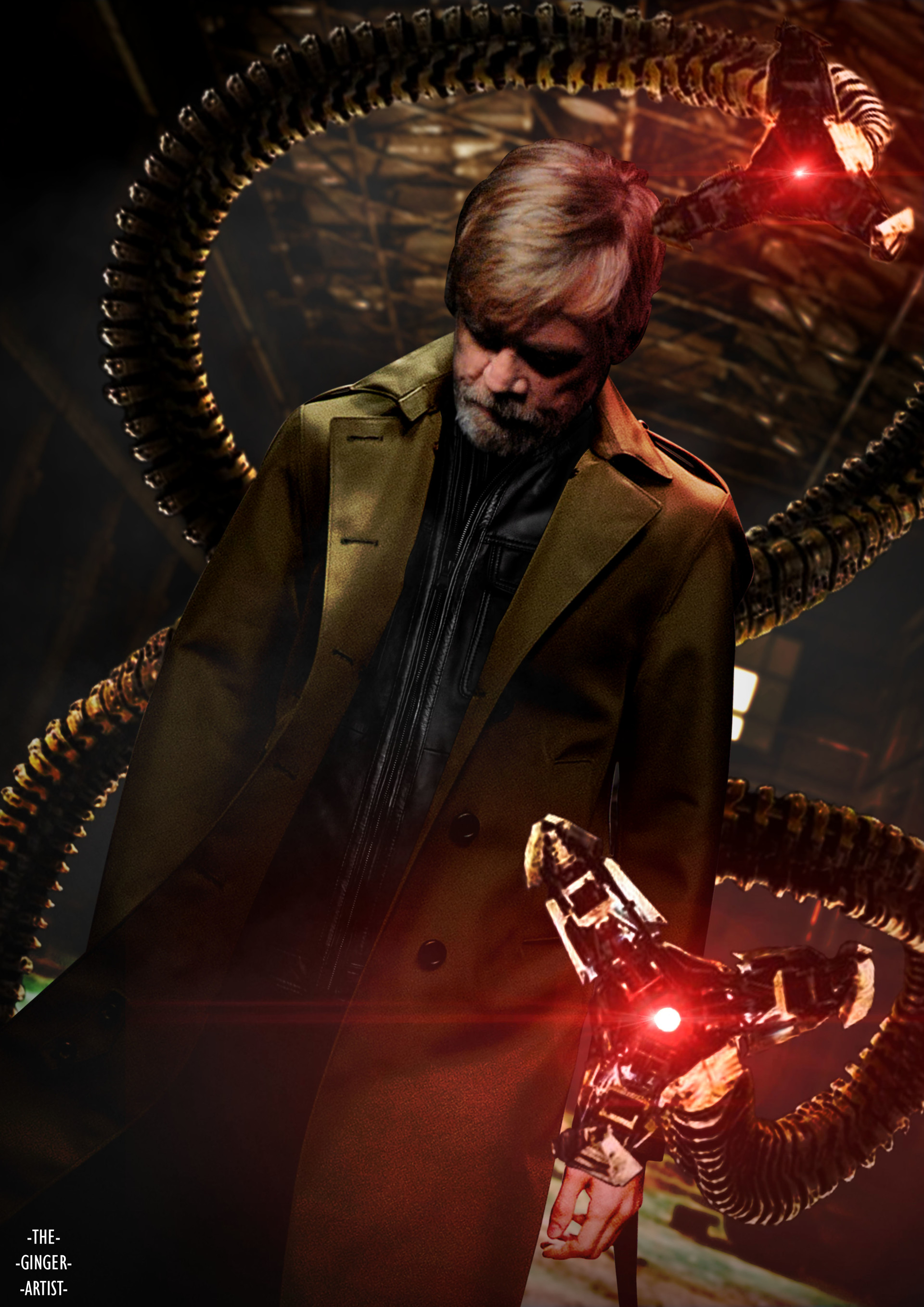 ArtStation - Mark Hamill as Doc Ock, Callum Quinn