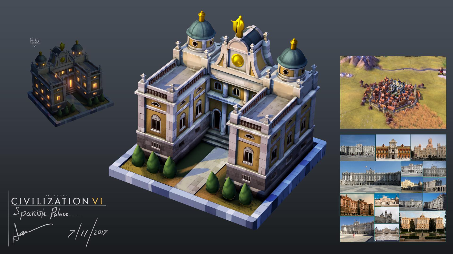 Samuel aaron whitehex spanish palace concept