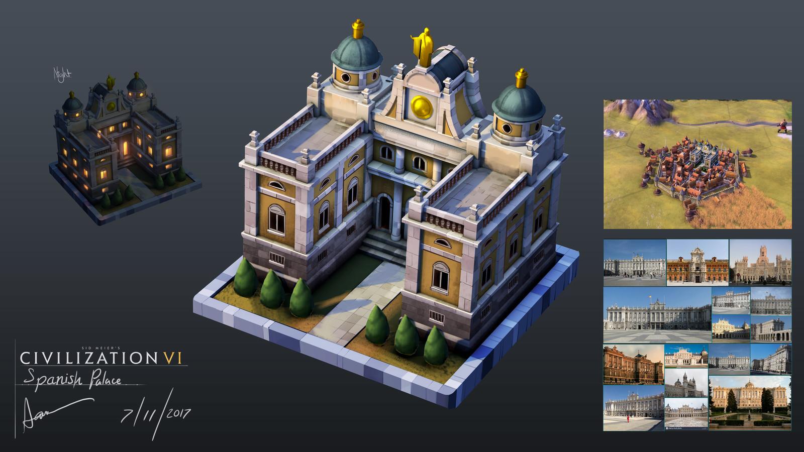 Spanish Style Palace