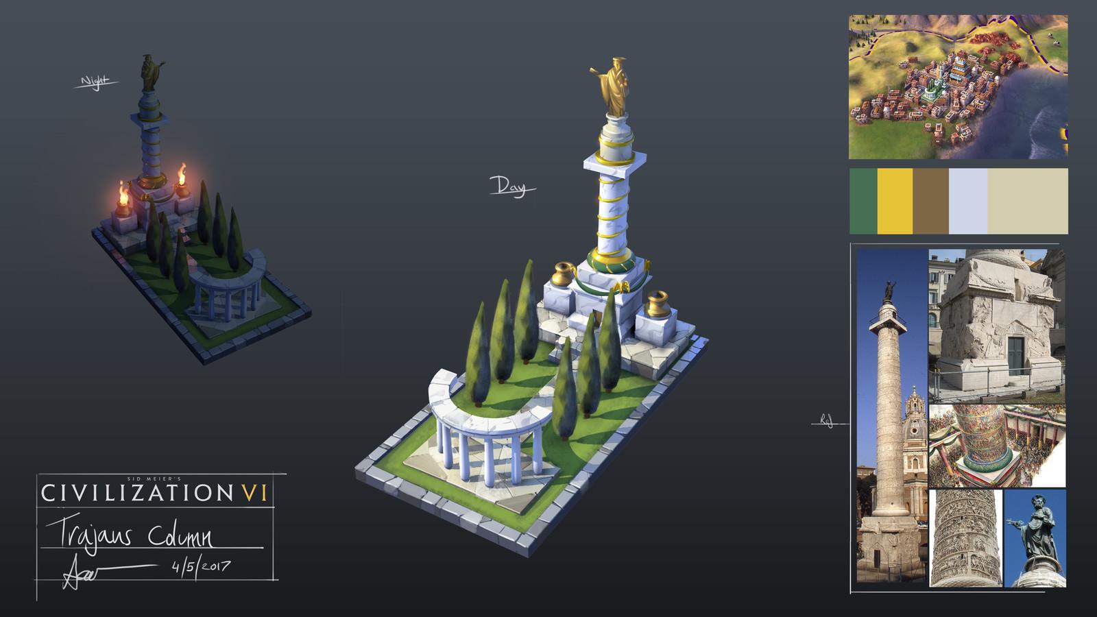Roman Style Memorial