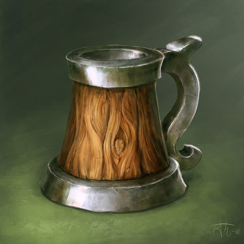 Image result for fantasy art tankard