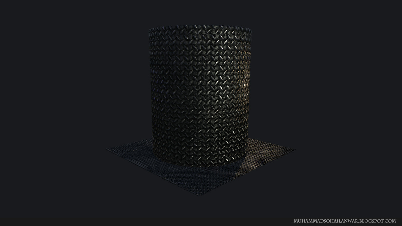 Displacement Map: Applied