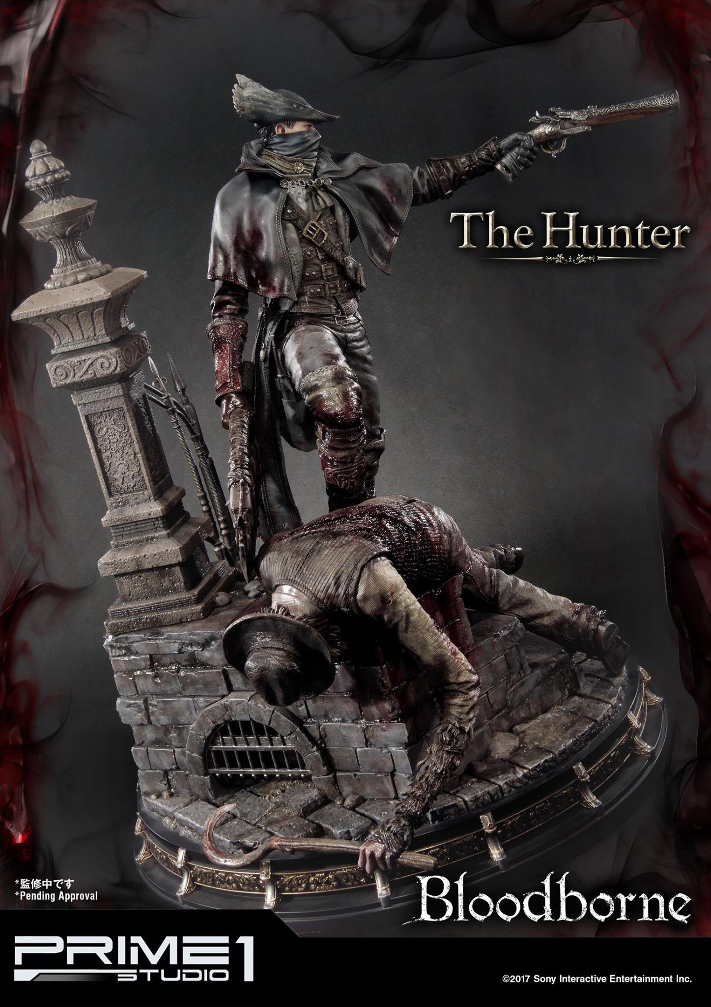 Bernardo cruzeiro prime 1 bloodborne hunter statue 012
