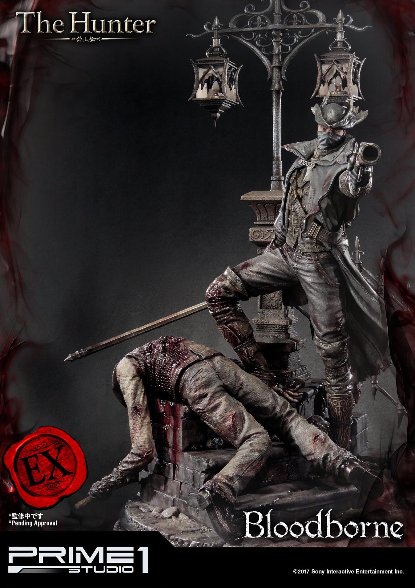 Bernardo cruzeiro prime 1 bloodborne hunter statue 024