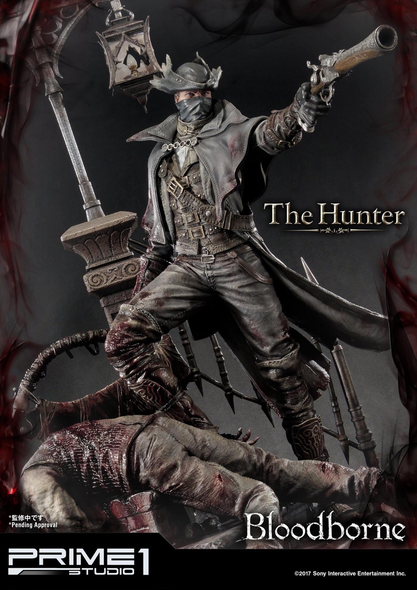 Bernardo cruzeiro prime 1 bloodborne hunter statue 002