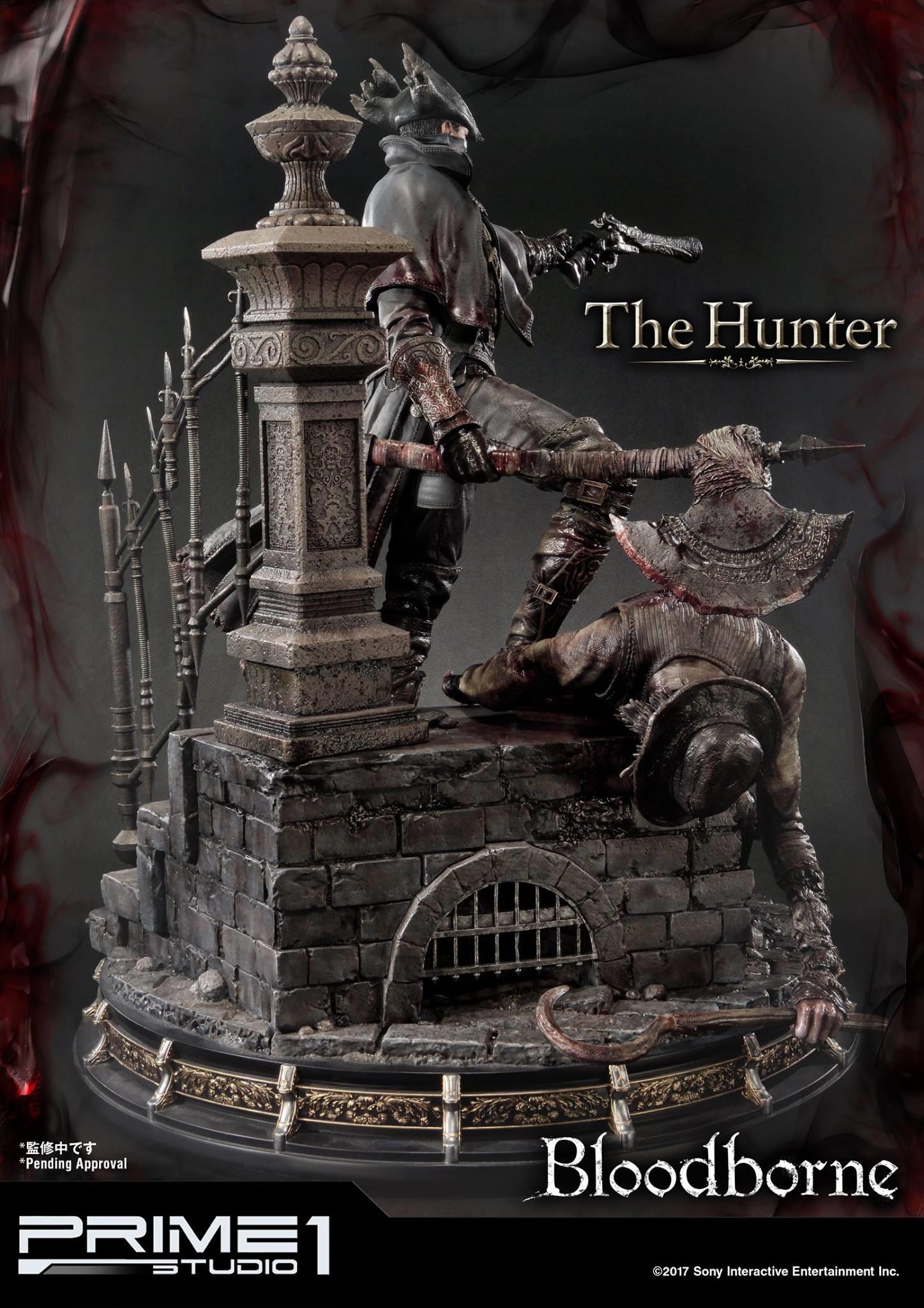 Bernardo cruzeiro prime 1 bloodborne hunter statue 013