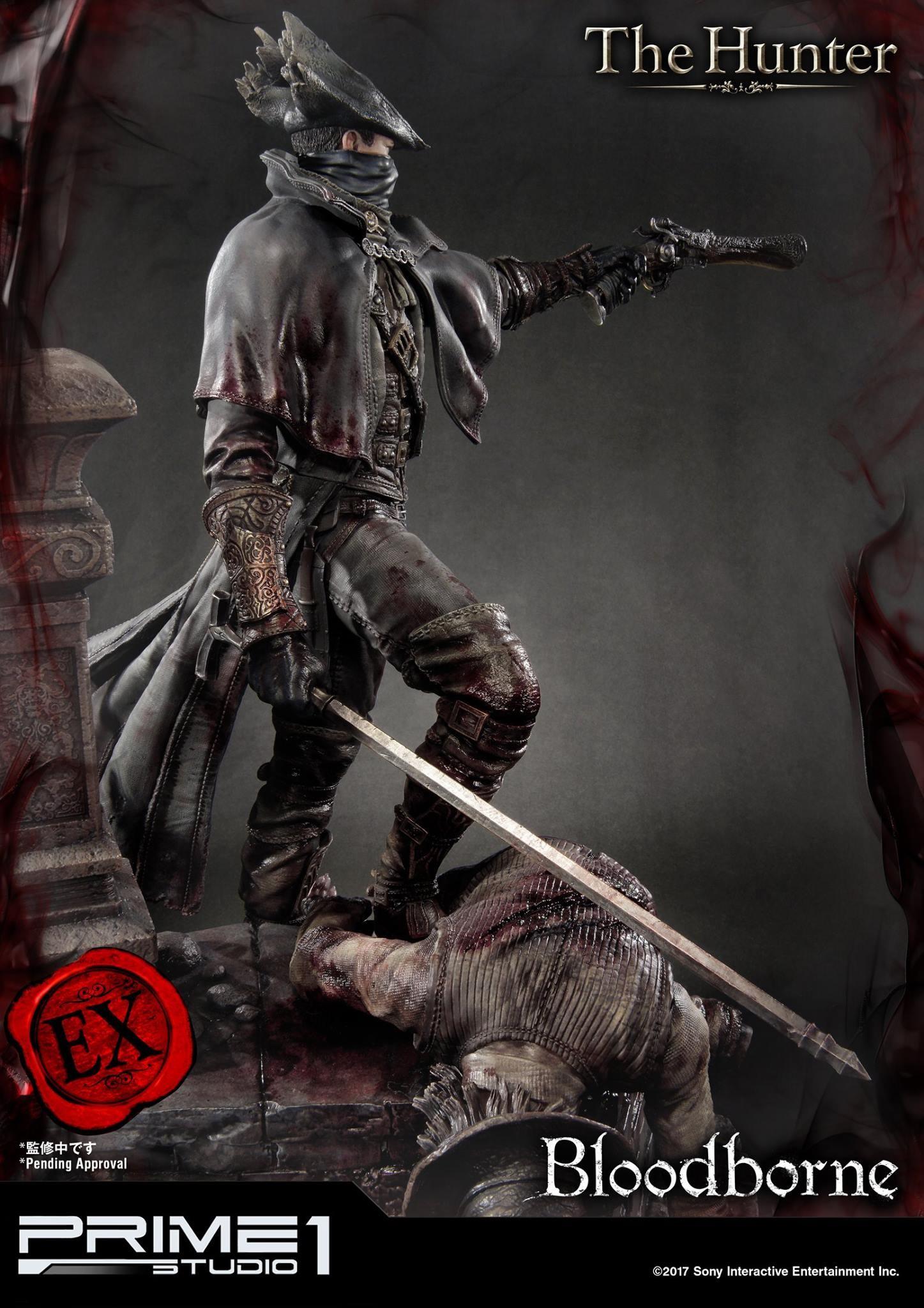 Bernardo cruzeiro prime 1 bloodborne hunter statue 025