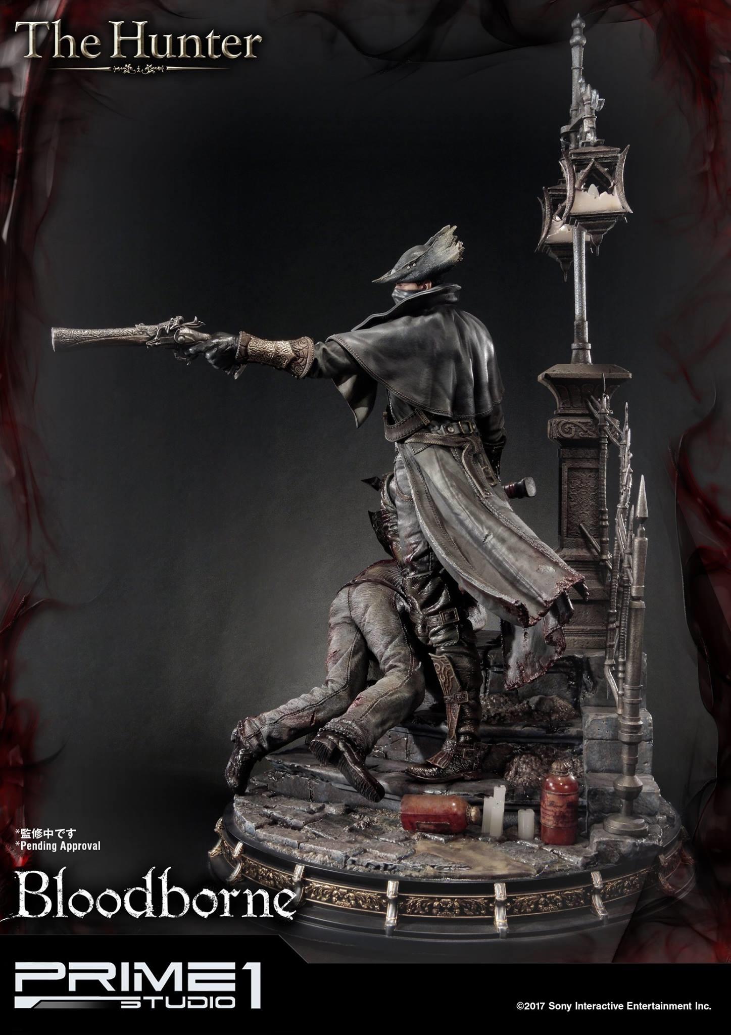 Bernardo cruzeiro prime 1 bloodborne hunter statue 014