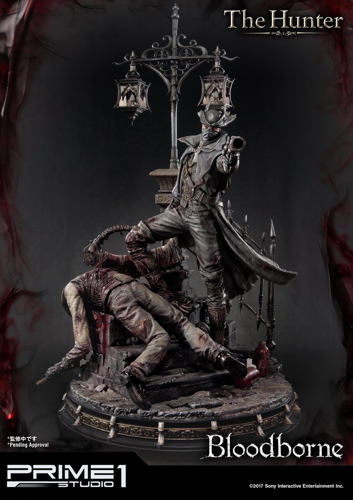 Bernardo cruzeiro prime 1 bloodborne hunter statue 009
