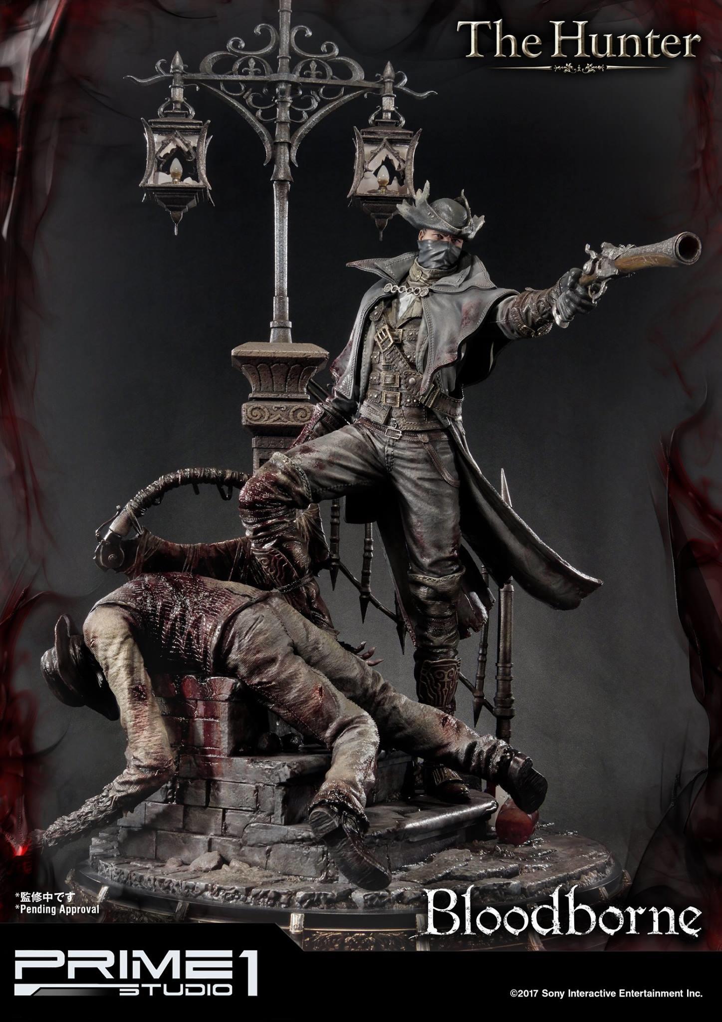 Bernardo cruzeiro prime 1 bloodborne hunter statue 004