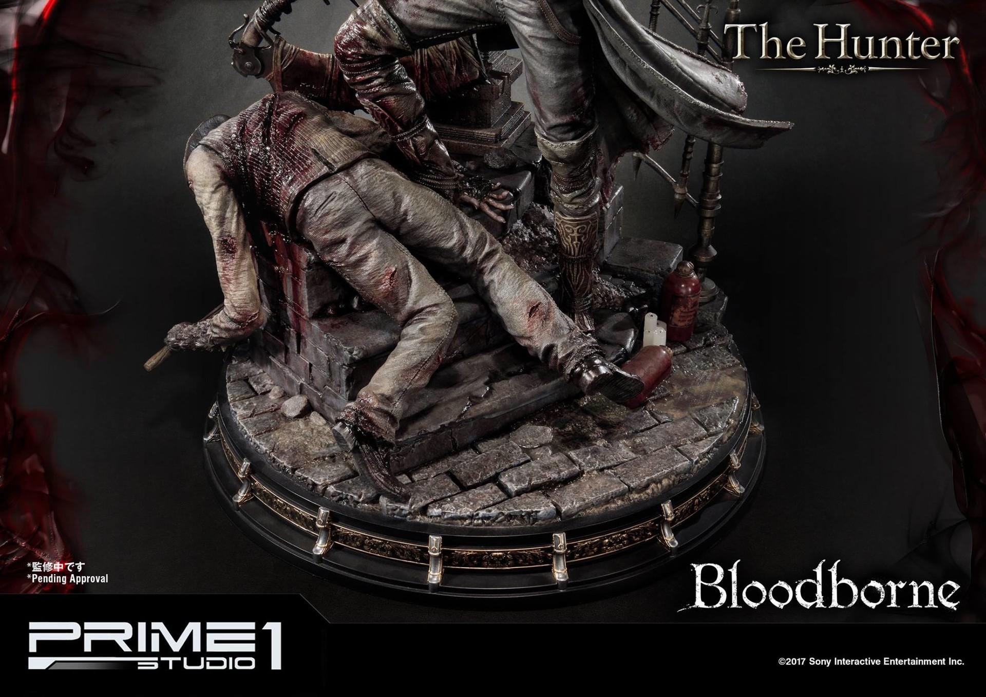 Bernardo cruzeiro prime 1 bloodborne hunter statue 020