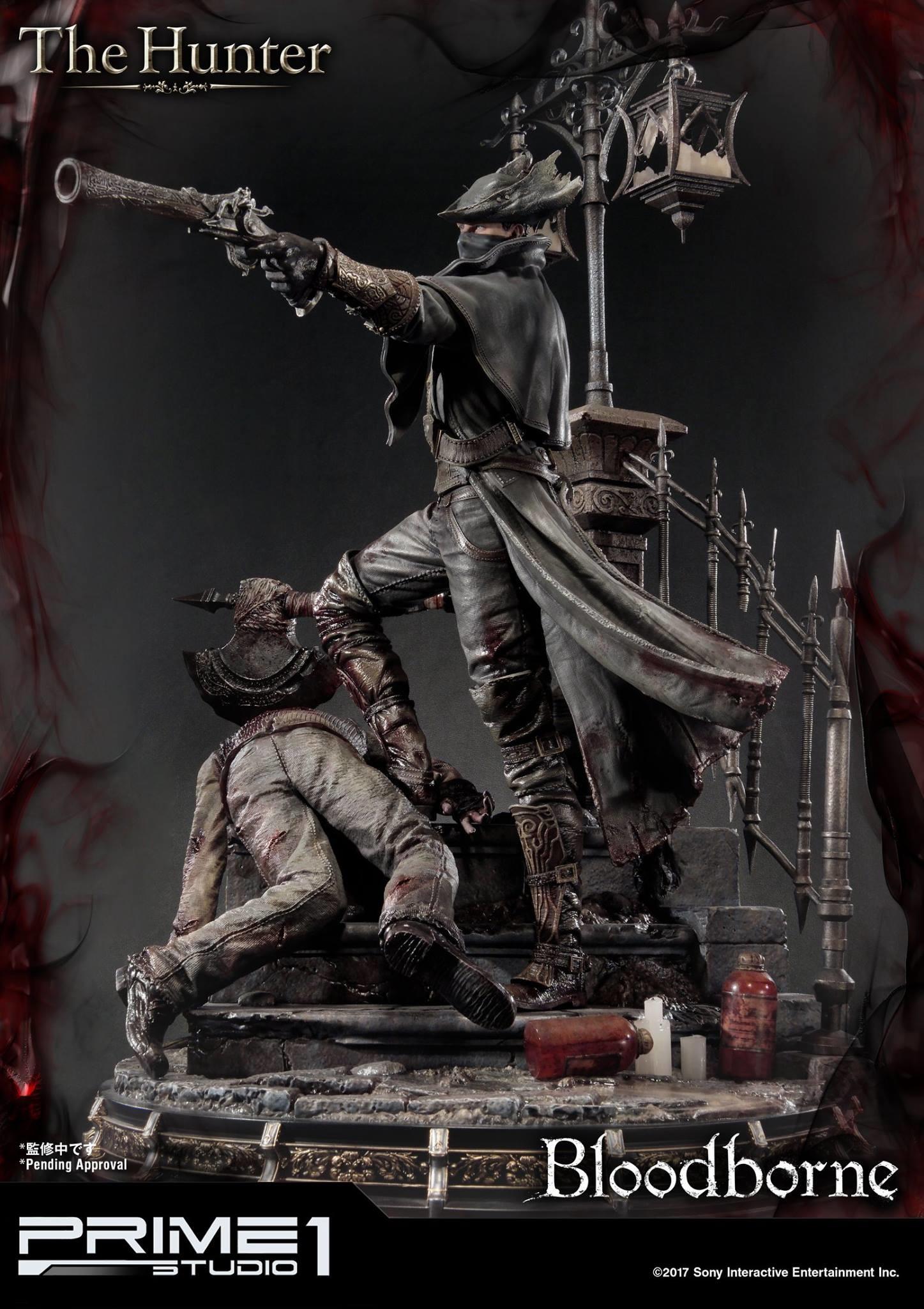 Bernardo cruzeiro prime 1 bloodborne hunter statue 005