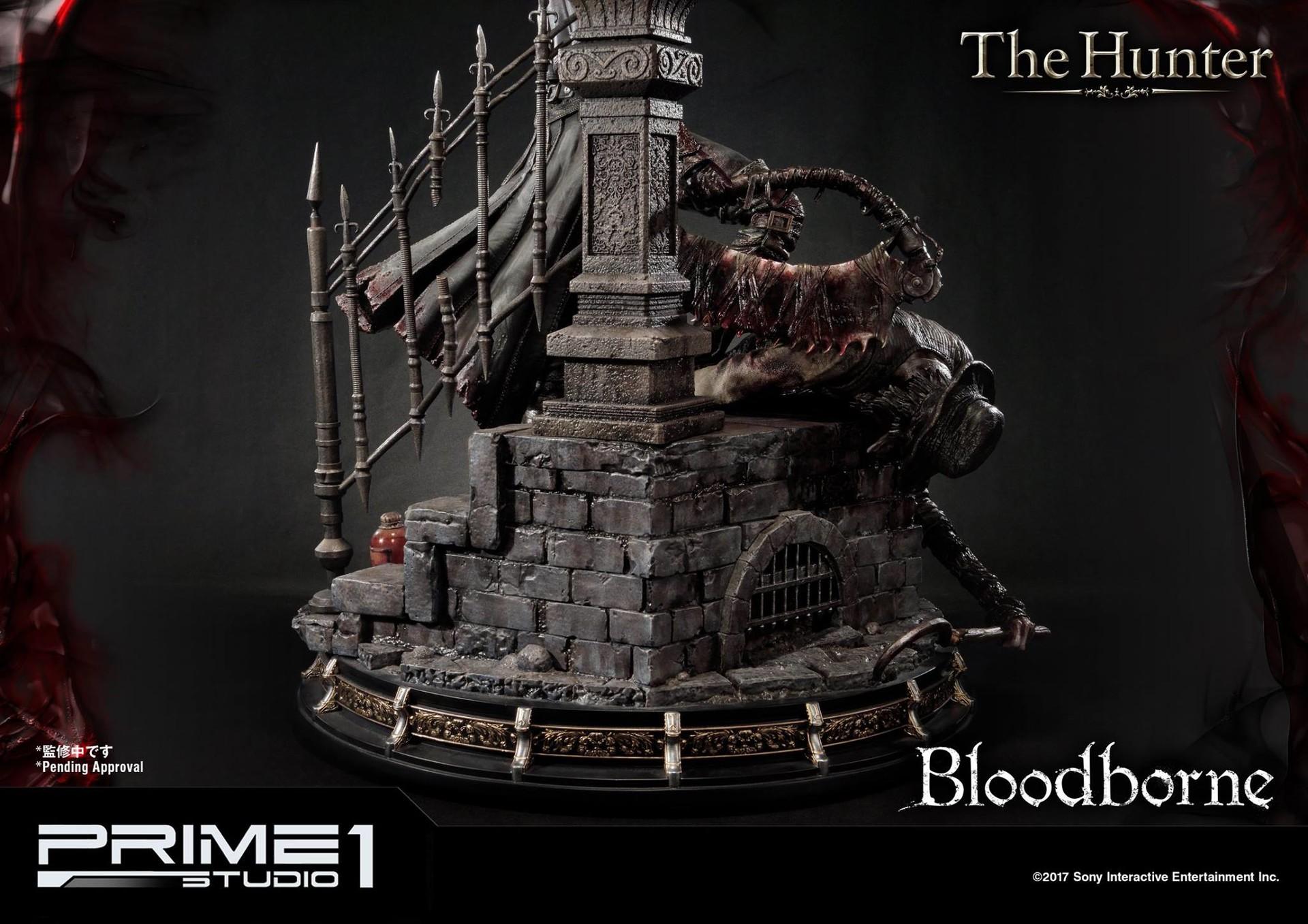 Bernardo cruzeiro prime 1 bloodborne hunter statue 021