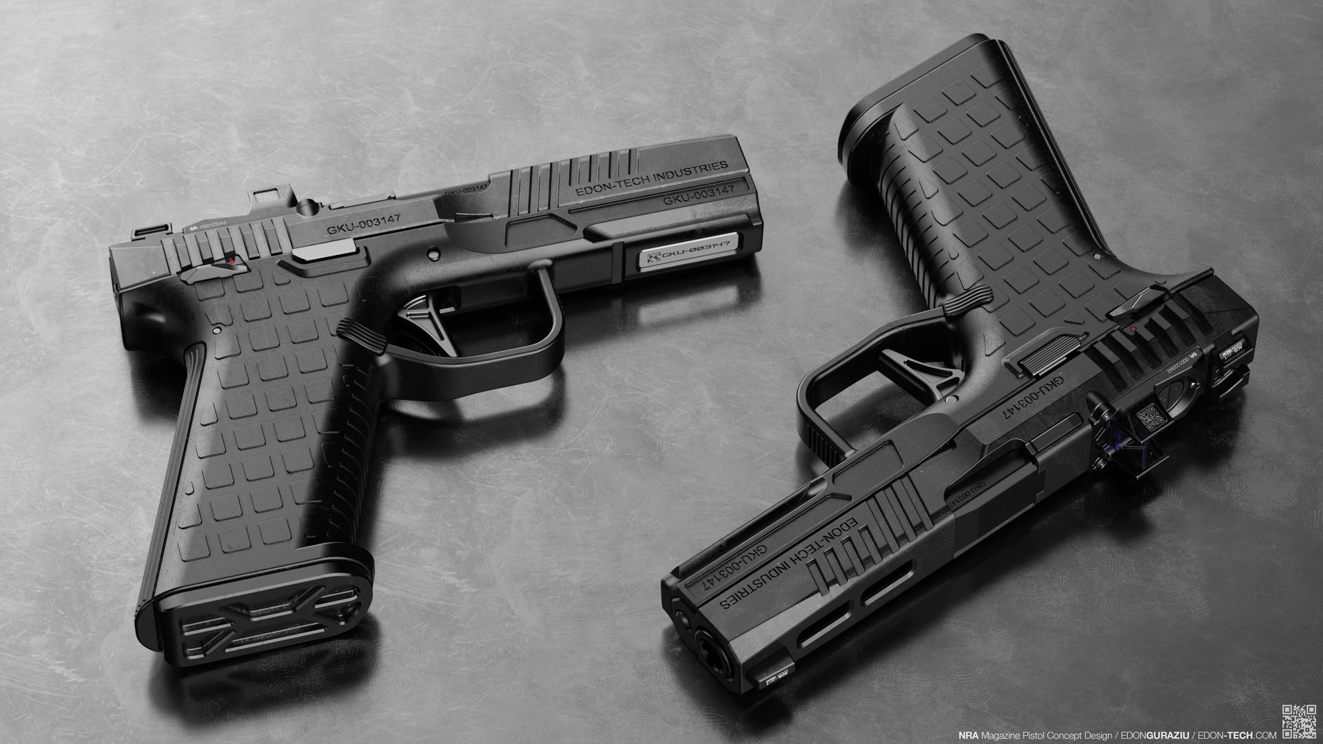 Edon guraziu pistol flat 001