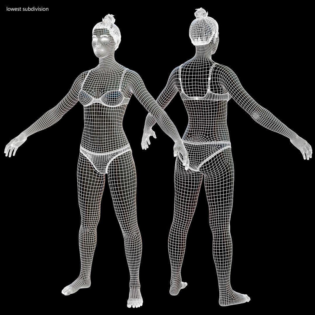 Alex lashko averagemalebody by alexlashko wireframe 01
