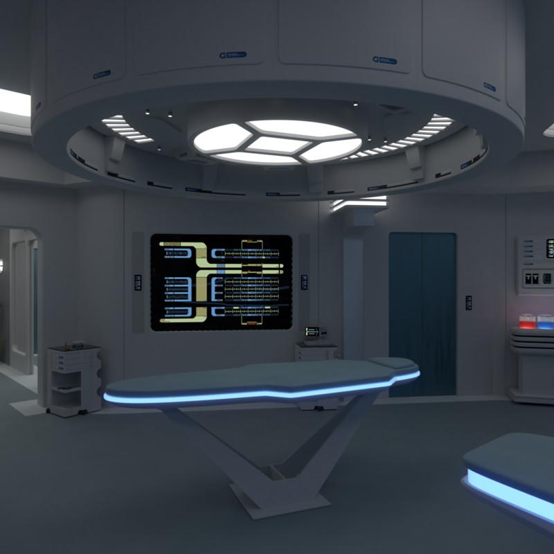 USS Galaxy Sickbay