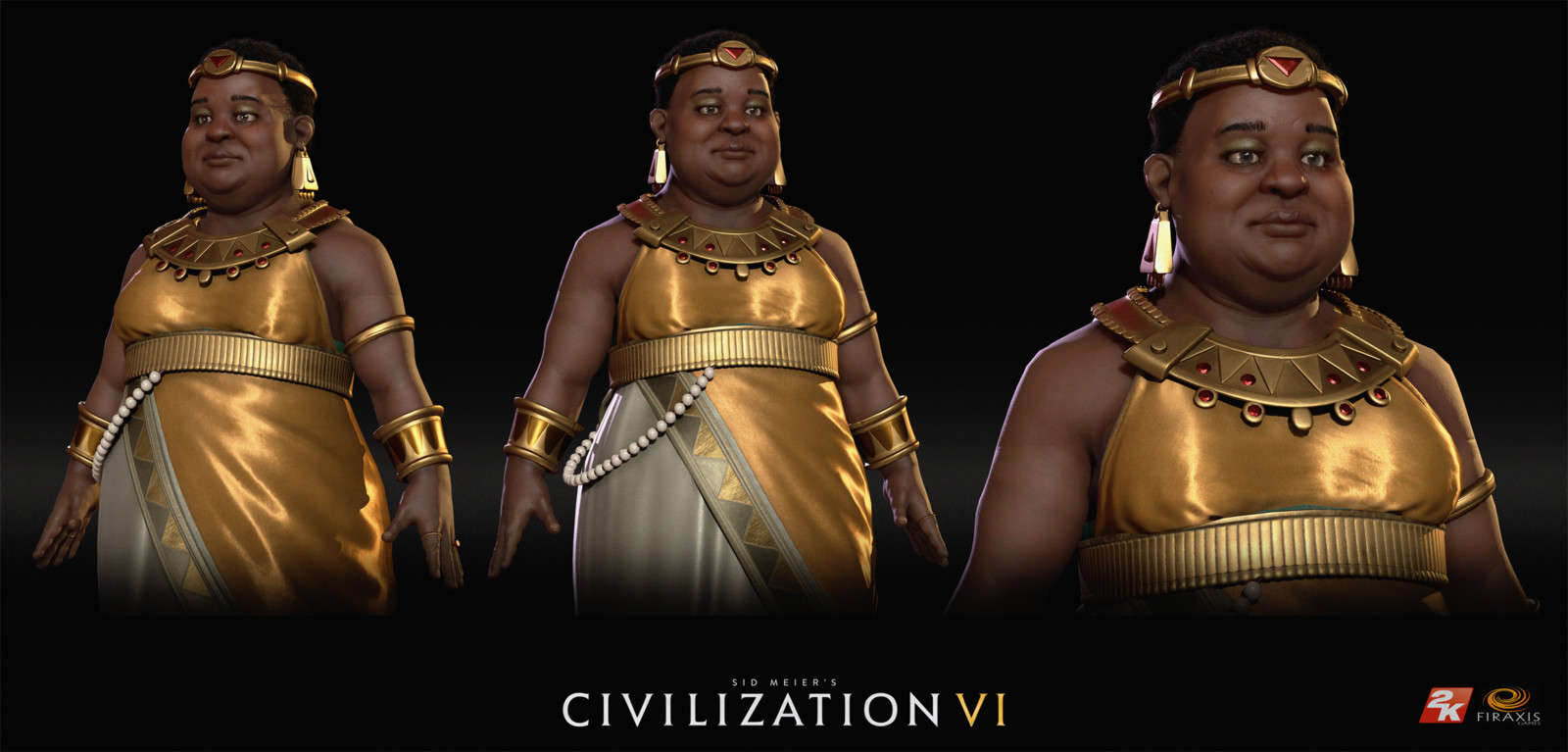 Civilization VI: Amanitore of Nubia