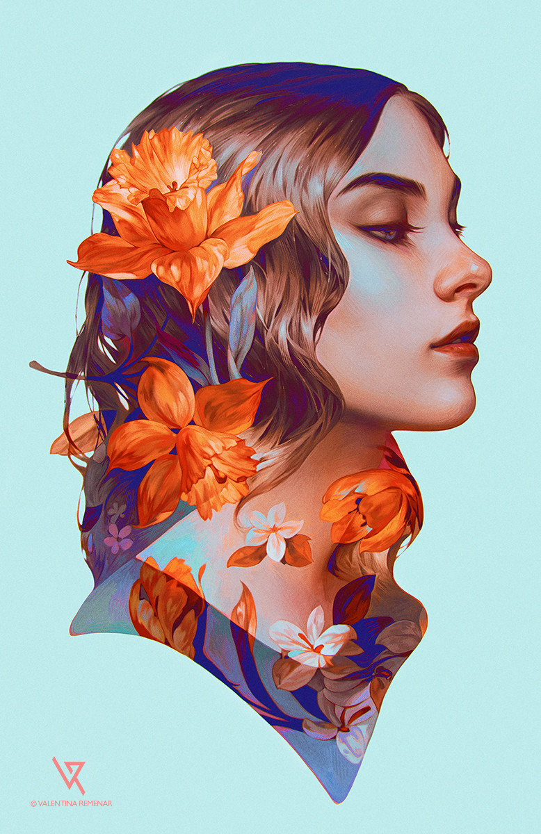 Valentina remenar the rose by valentina remenar