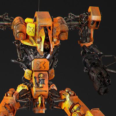 Ying te lien robot 28