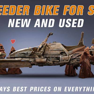 Pablo olivera concept 02 speeder bike star wars jawas v03 baja
