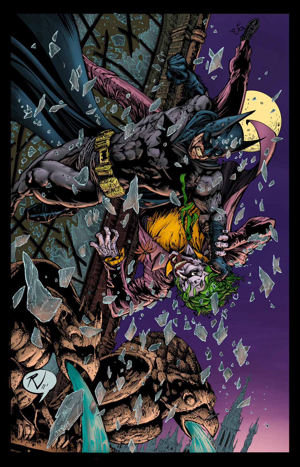 Matt james batman and joker by snakebitartstudio dc67srm