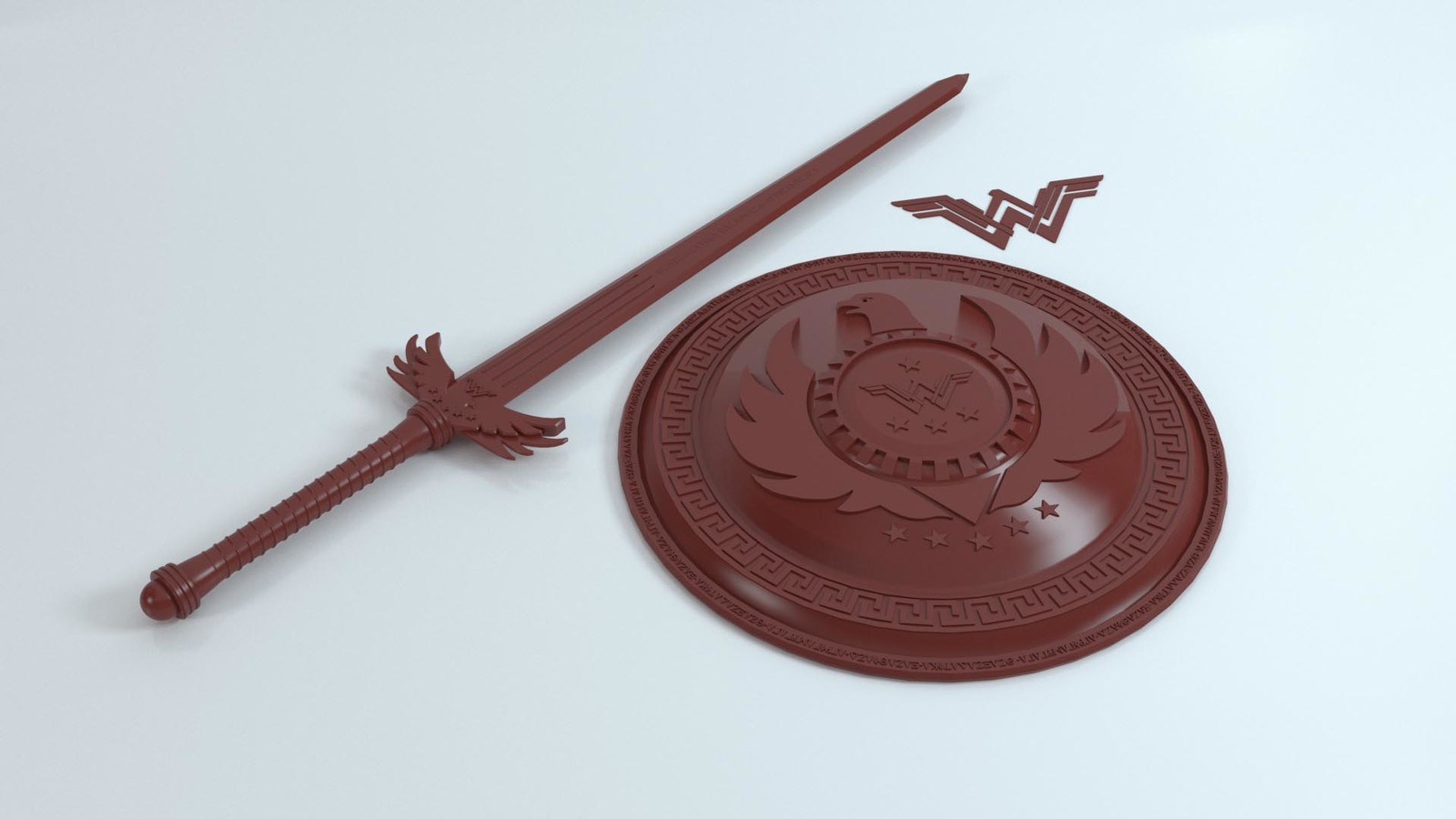Wonder Woman Sword & Shield