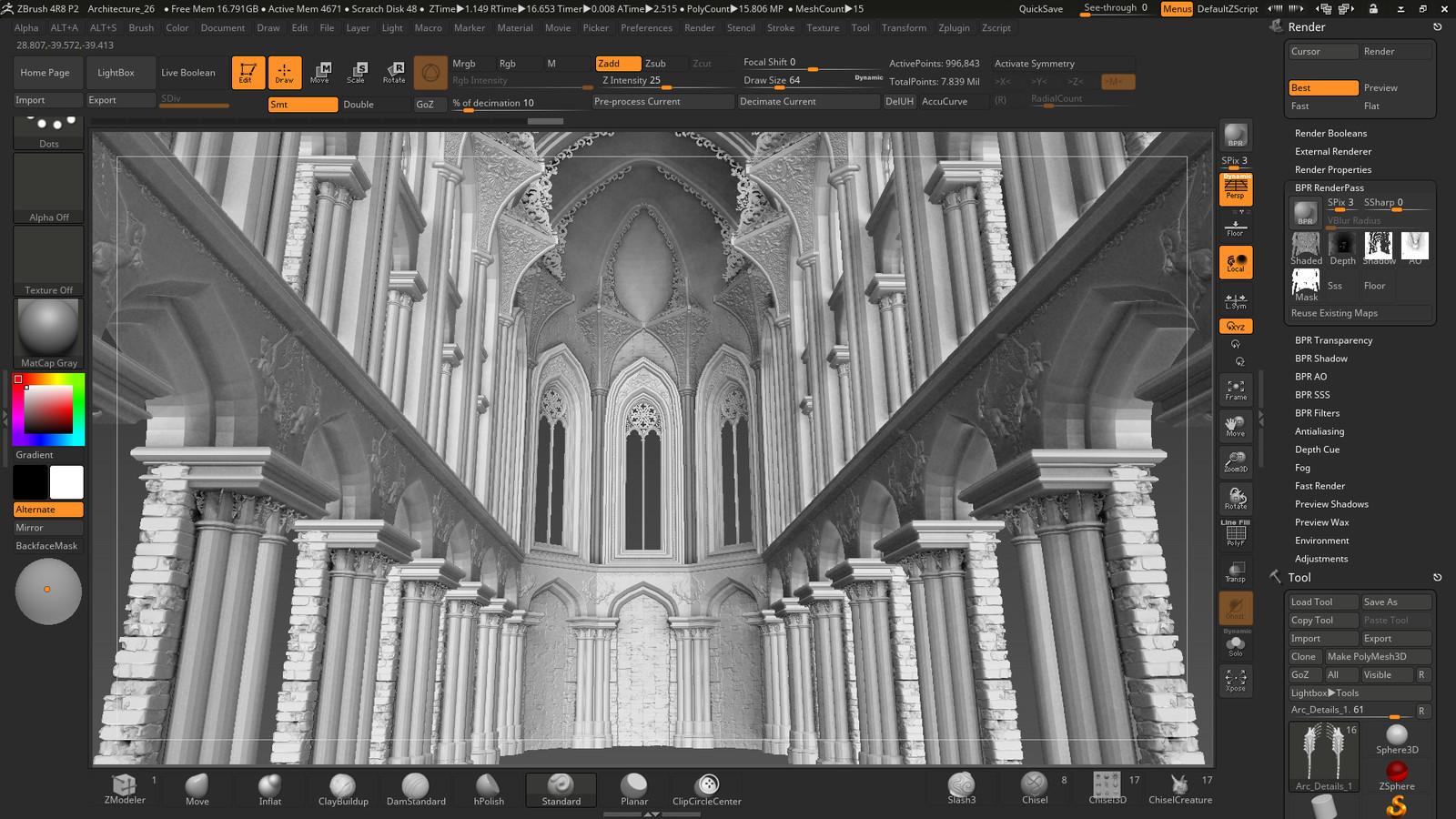 Zbrush Screenshot