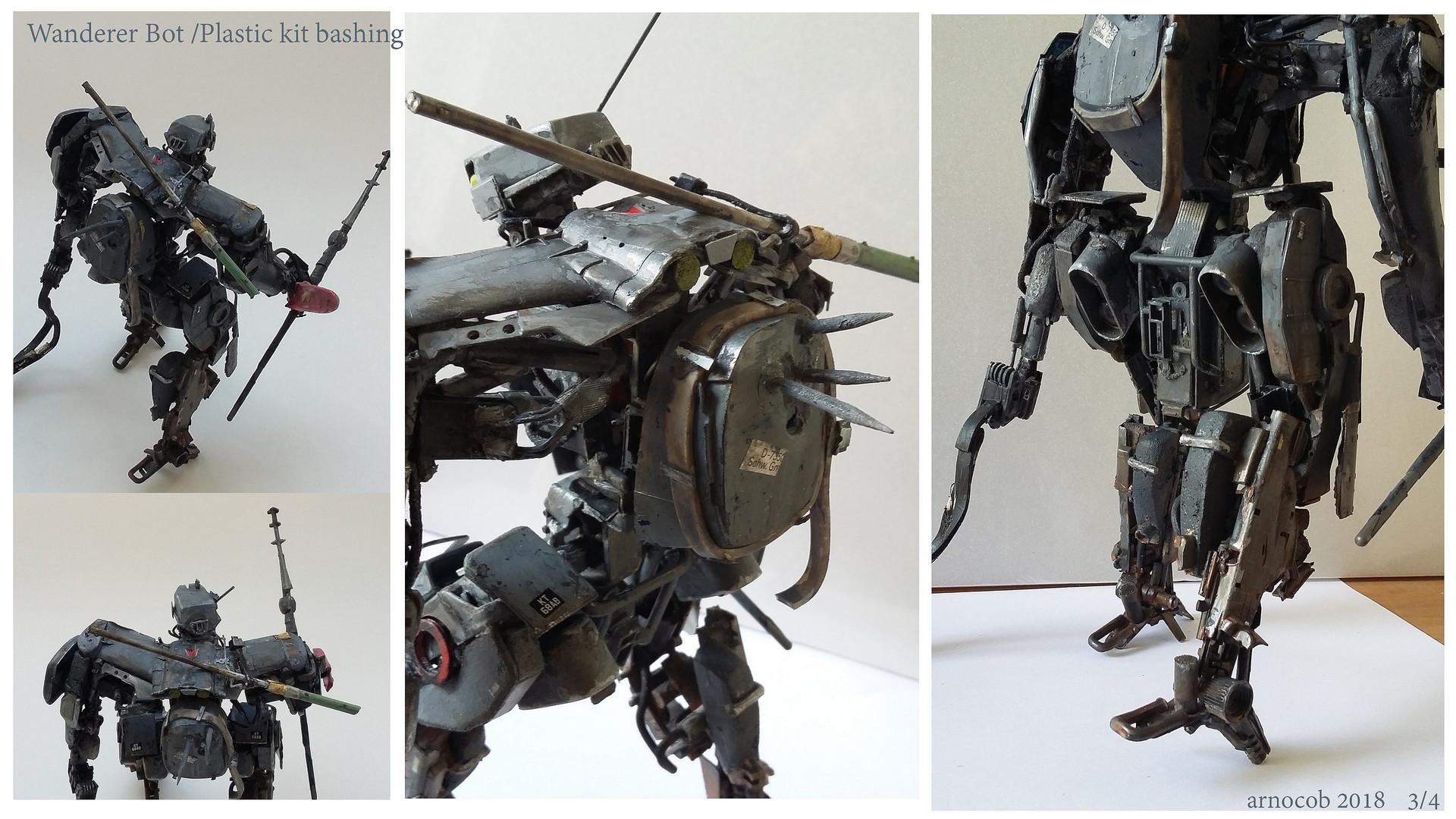 Arnaud caubel wandererbot plastickitbashing arnocob 03