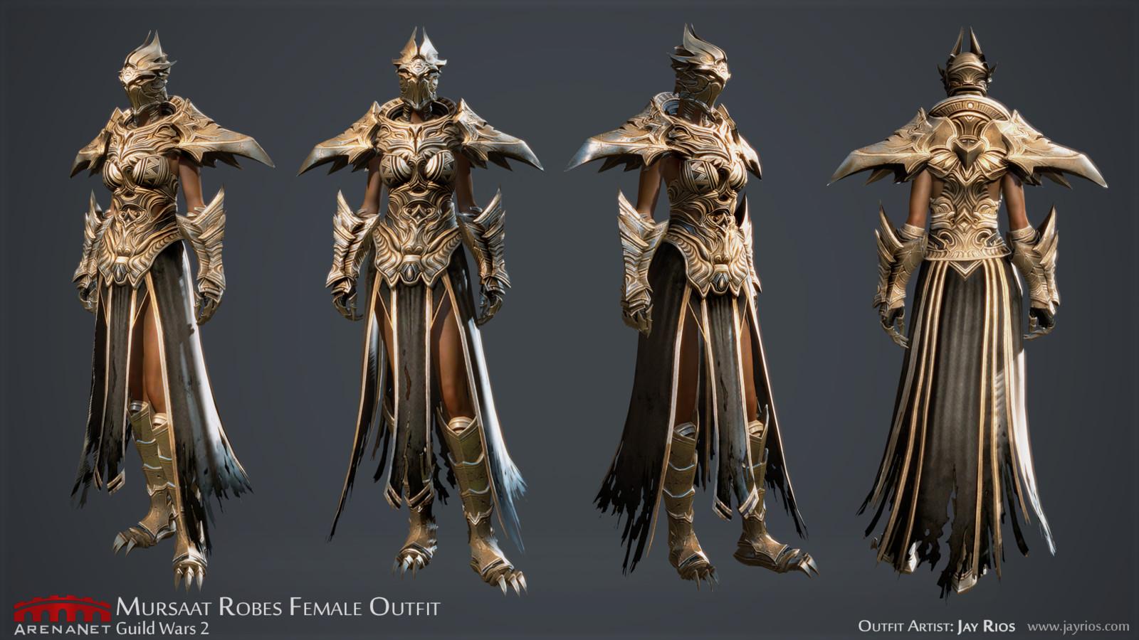 Mursaat Robes F -ArenaNet -