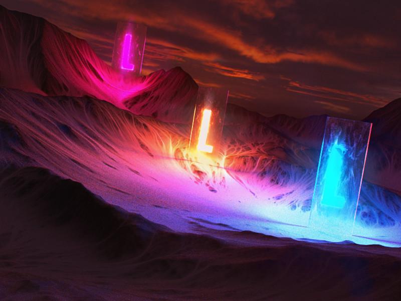 L og Lights by hugo matilde