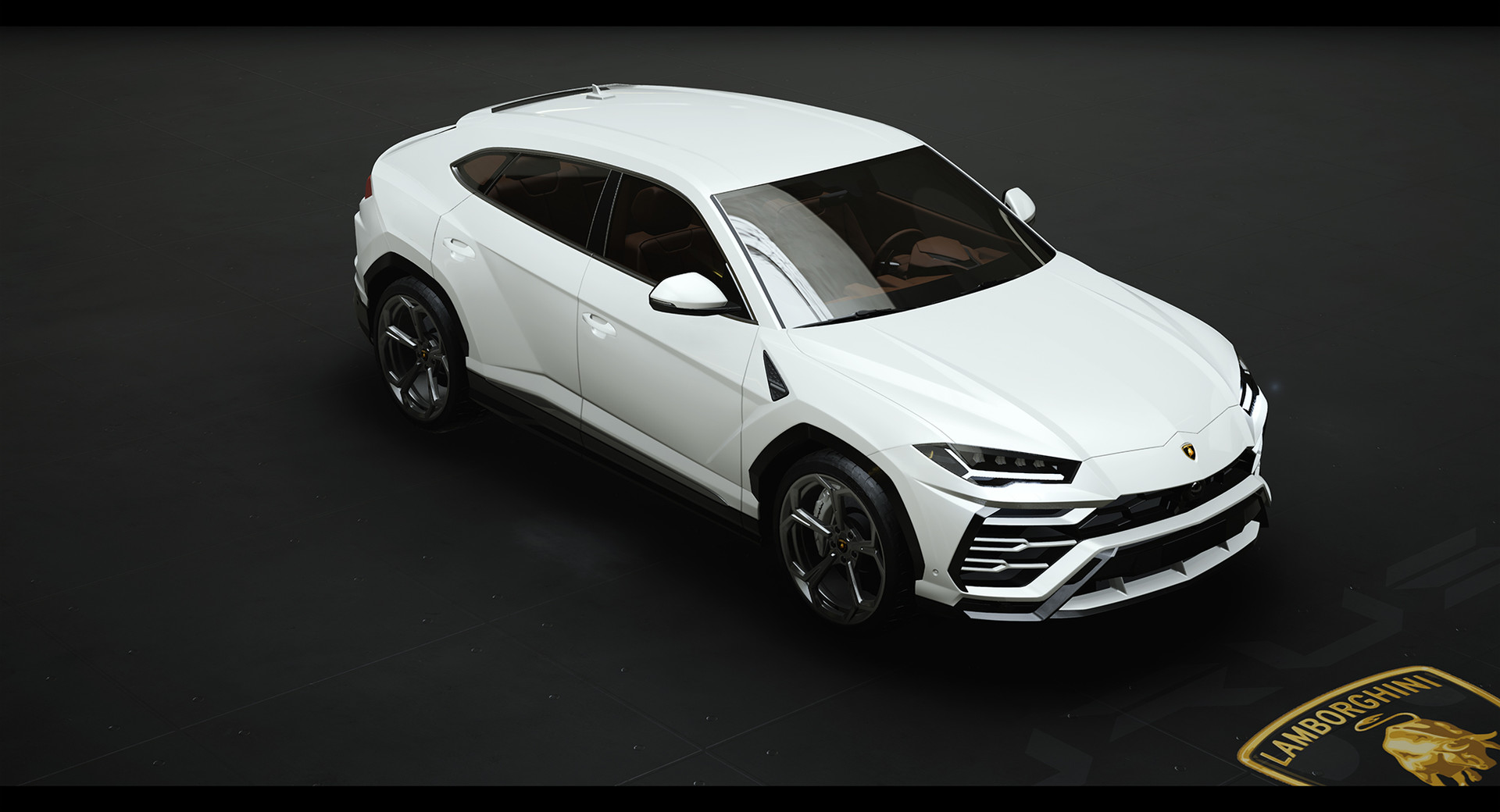 Artstation Ue4 Automotive Rendering Lamborghini Urus