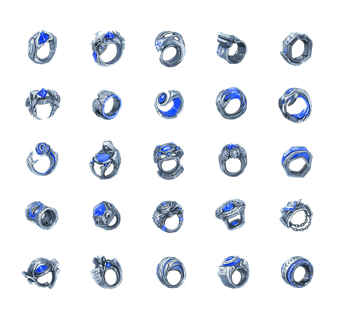 Championship Ring Early Explorations
