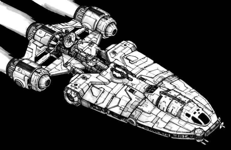 Original Concept from http://starwars.wikia.com/wiki/YG-4210