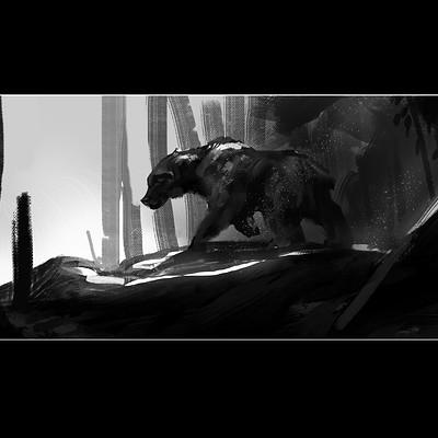 Ran cilento bear sketch