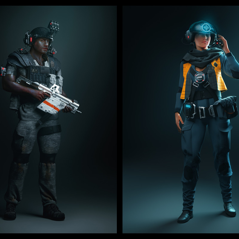 SciFi Characters 2