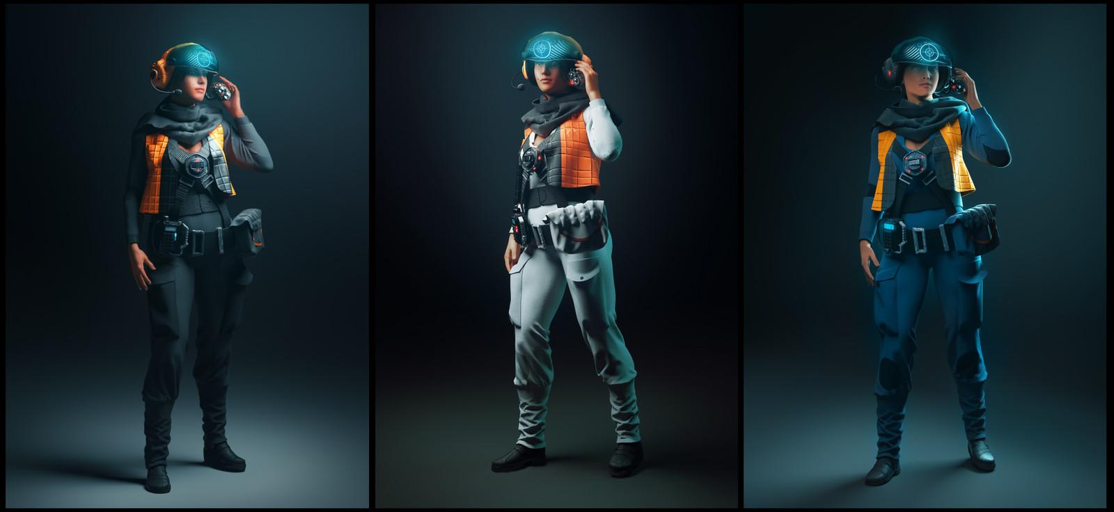 Pilot variations