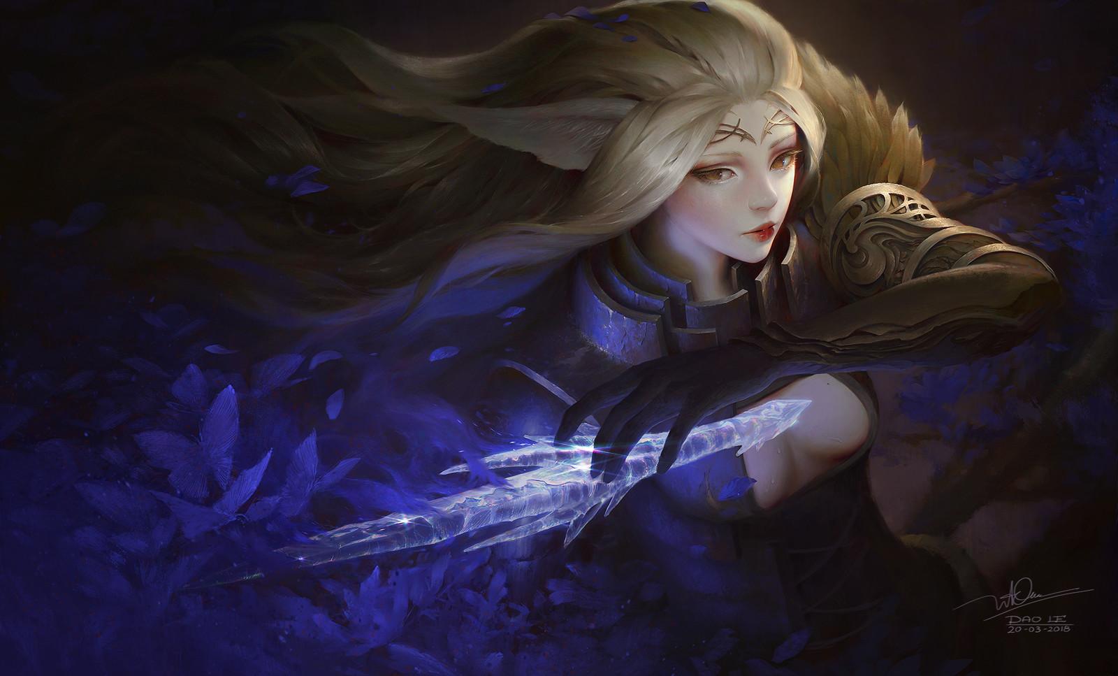 Mothianna the Diamond sword - personal project
