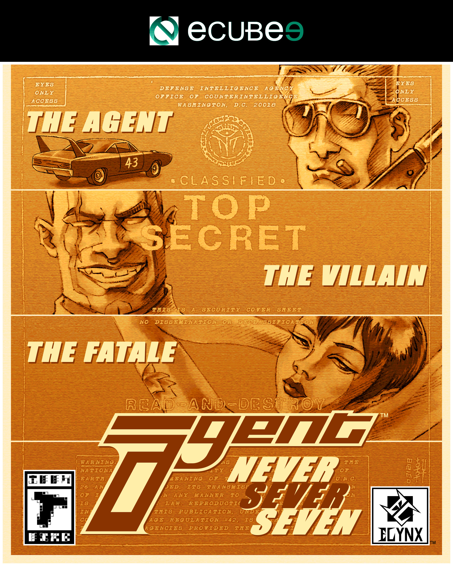 Agent - Box Art Design II