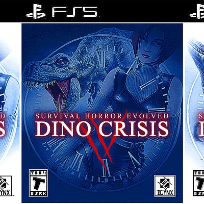 Dino Crisis IV - Box Art Design