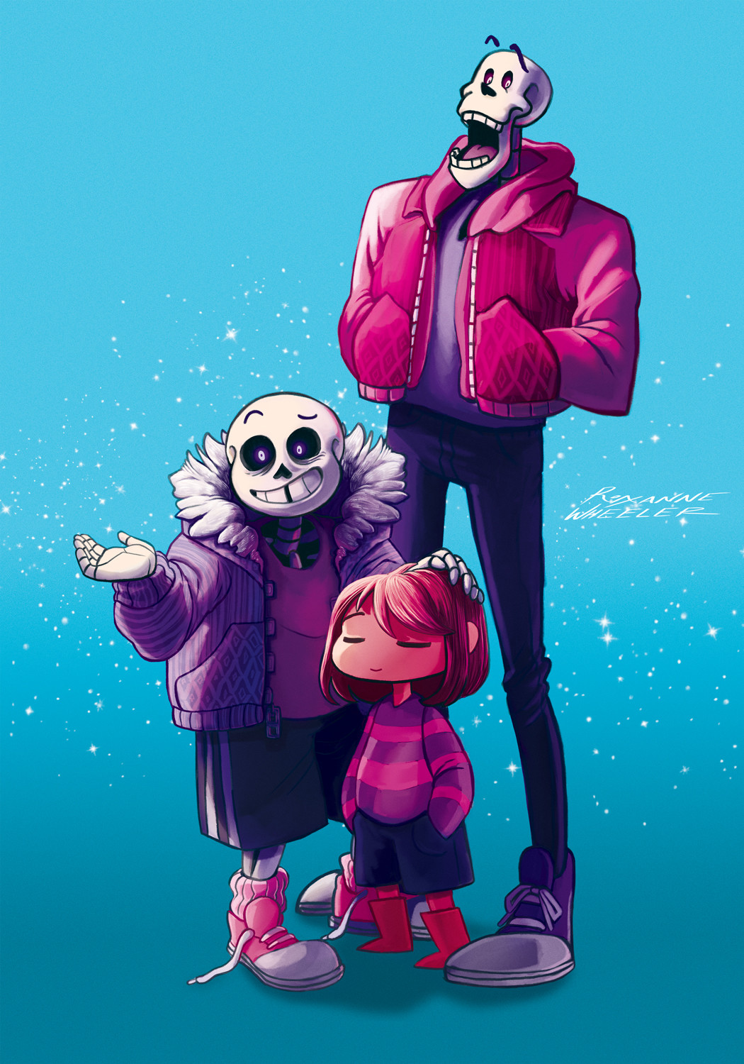 Undertale Family Portrait